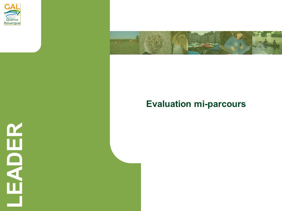 Evaluation mi-parcours