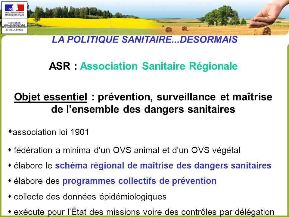 ASR : Association Sanitaire Régionale