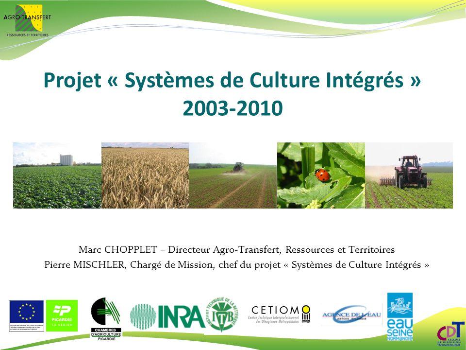 Projet « Systèmes de Culture Intégrés »