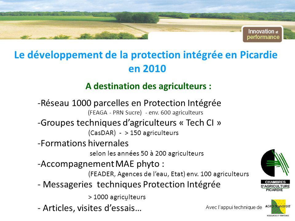 A destination des agriculteurs :
