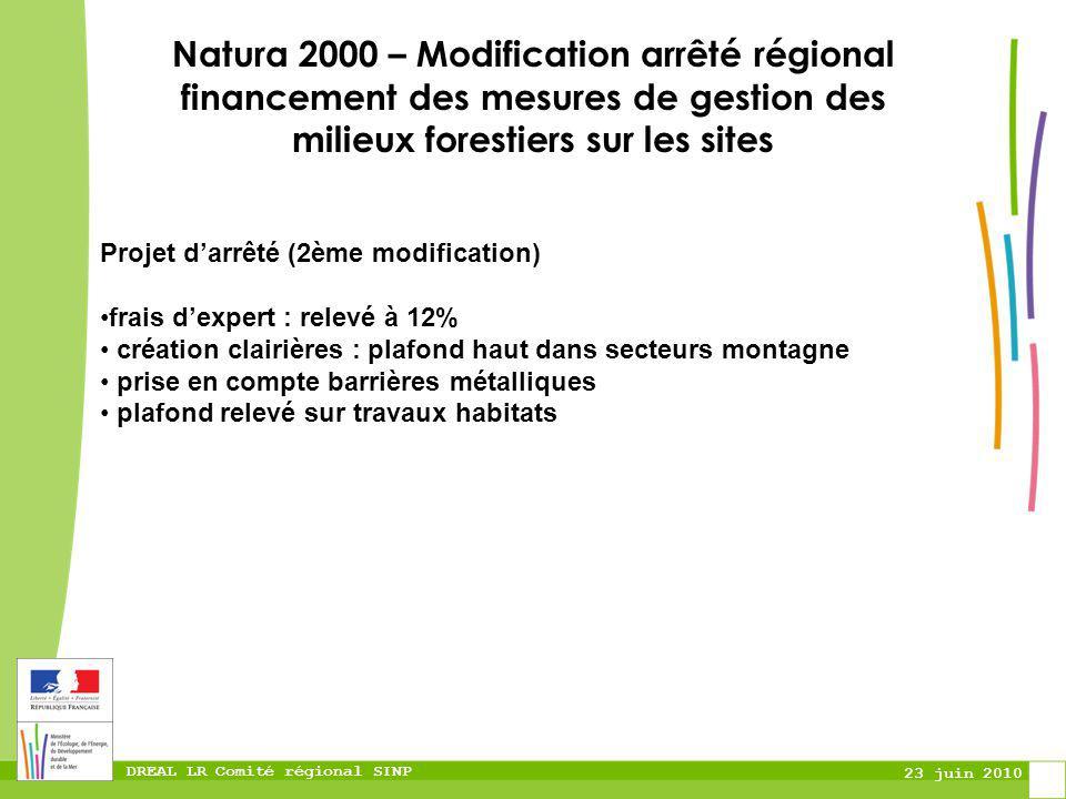 Natura 2000 – Modification arrêté régional financement des mesures de gestion des milieux forestiers sur les sites