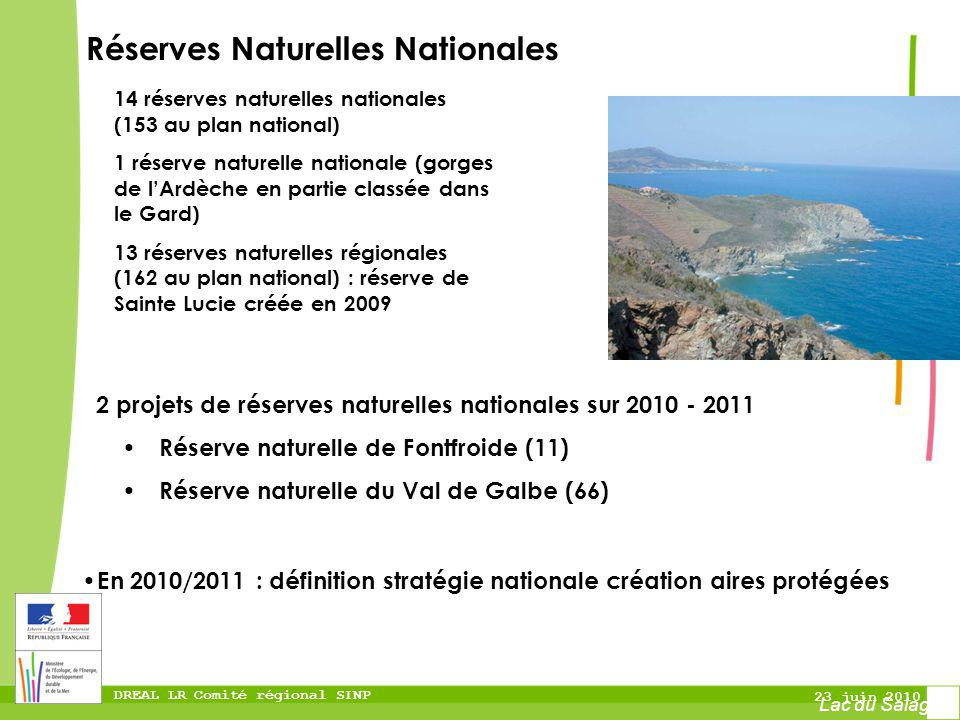 Réserves Naturelles Nationales