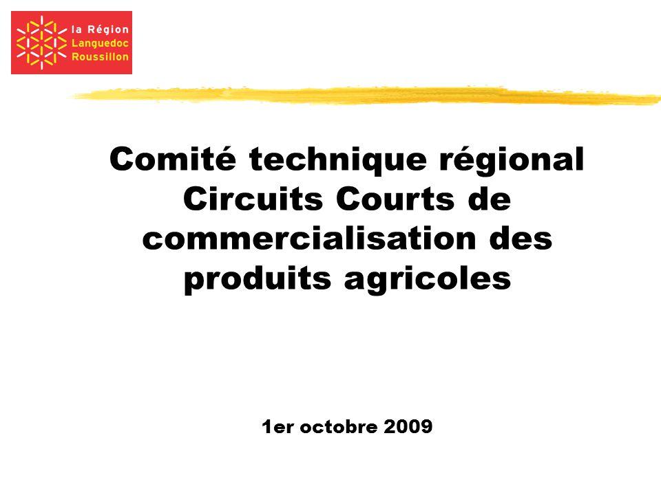 Comité technique régional