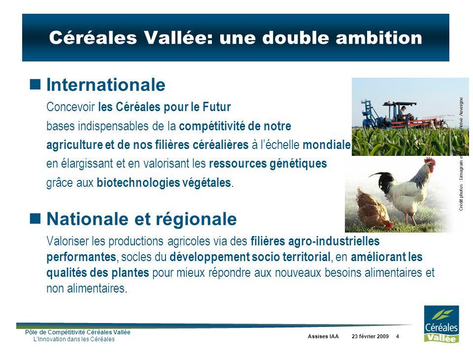 Céréales Vallée: une double ambition