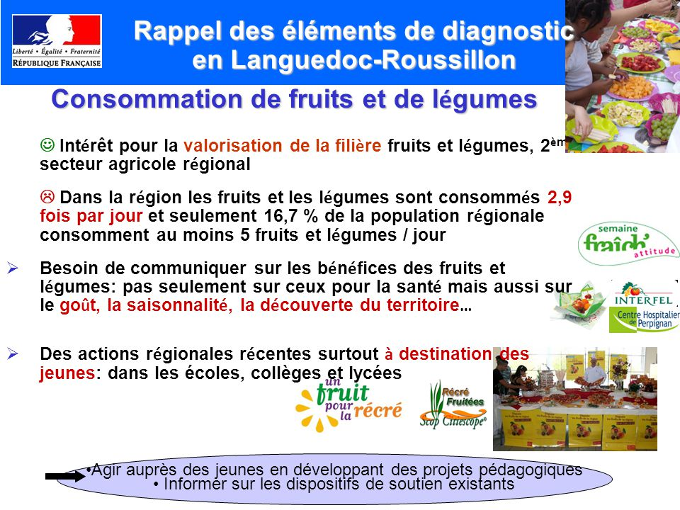Rappel des éléments de diagnostic en Languedoc-Roussillon