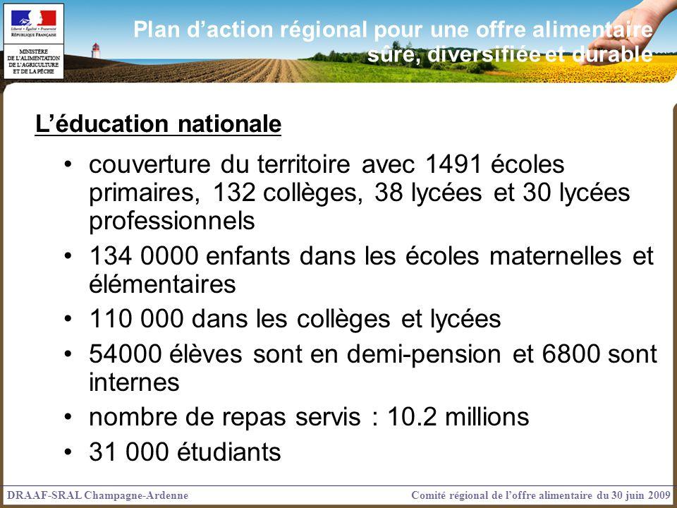 134 0000 enfants dans les écoles maternelles et élémentaires