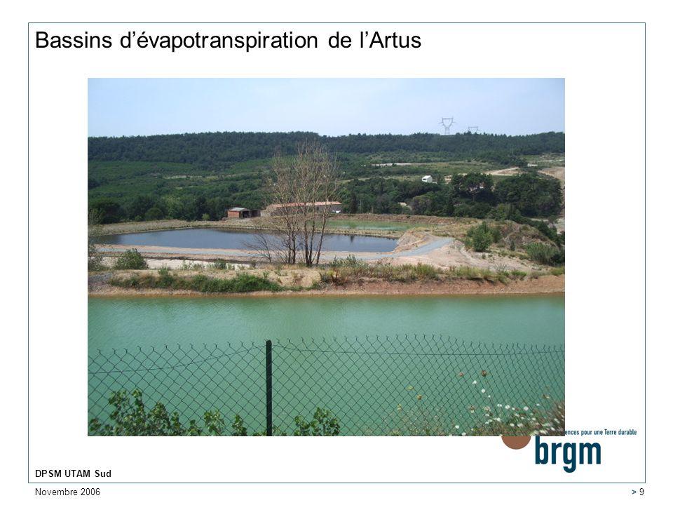 Bassins d'évapotranspiration de l'Artus
