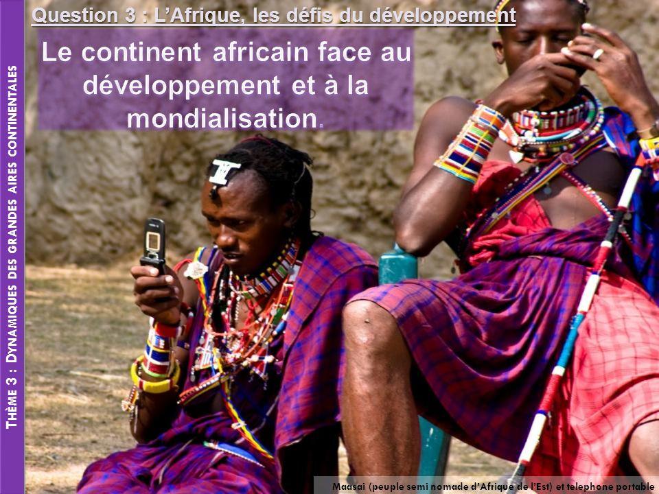 Le continent africain face au développement et à la mondialisation.