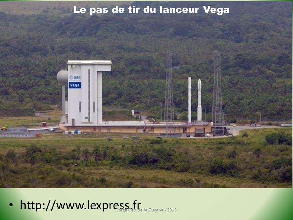 http://www.lexpress.fr Le pas de tir du lanceur Vega