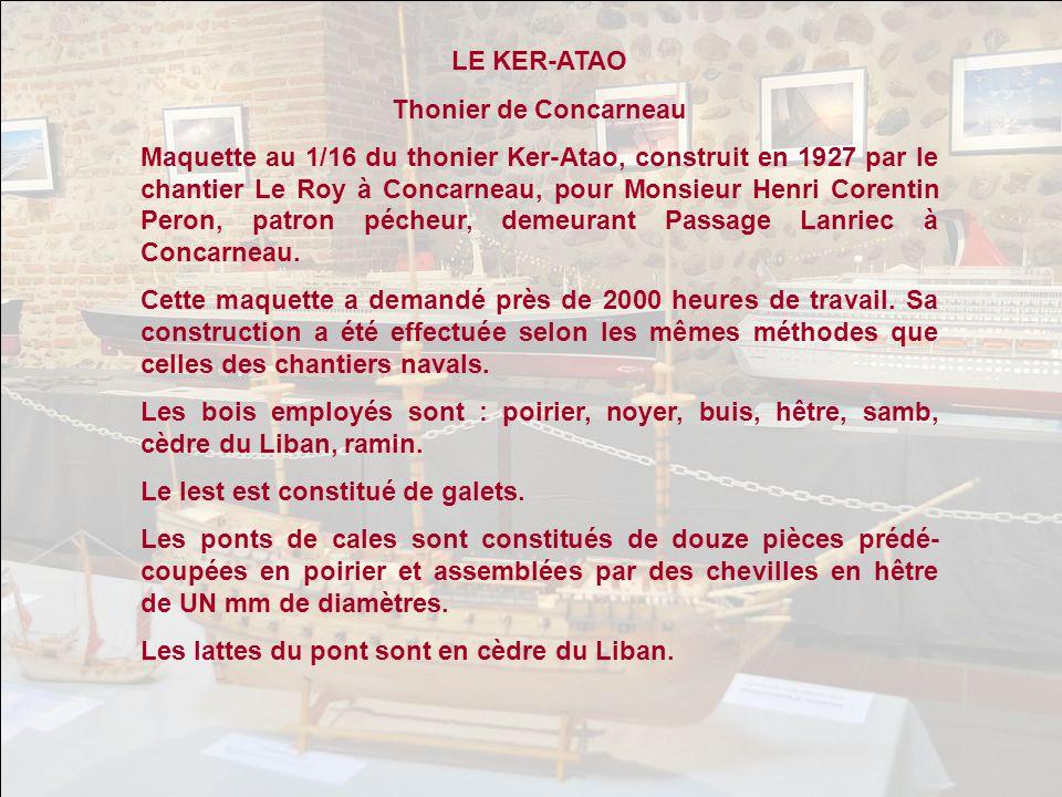 LE KER-ATAO Thonier de Concarneau.