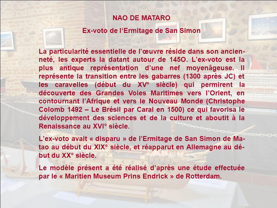 Ex-voto de l'Ermitage de San Simon