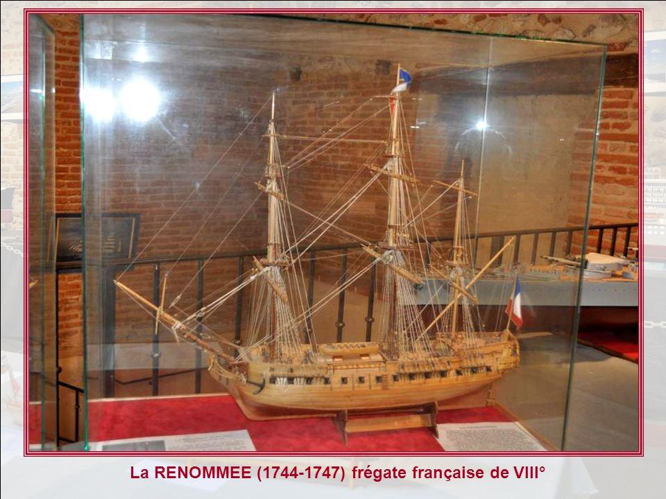 La RENOMMEE (1744-1747) frégate française de VIII°