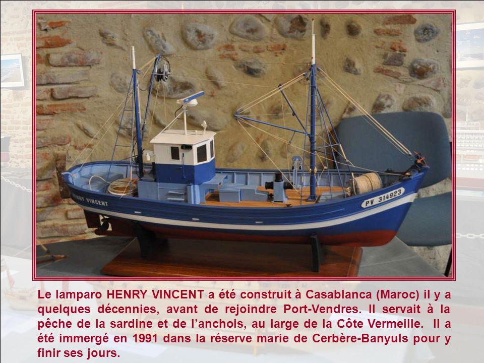 Le lamparo HENRY VINCENT a été construit à Casablanca (Maroc) il y a quelques décennies, avant de rejoindre Port-Vendres.