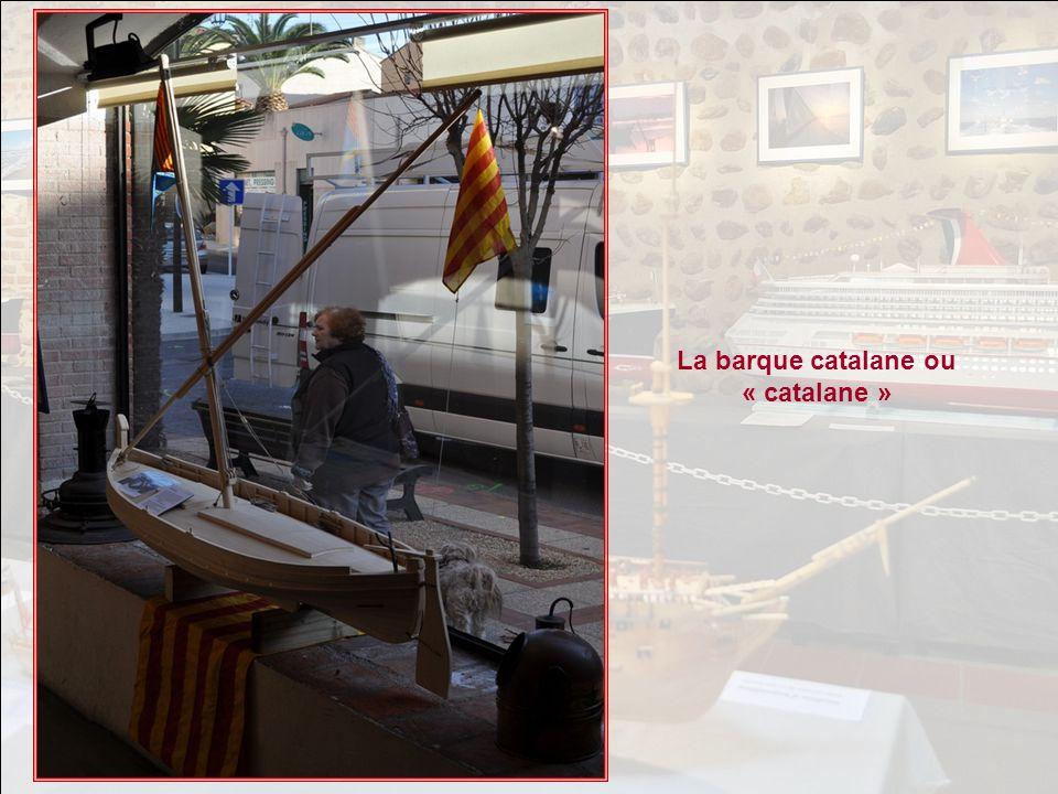 La barque catalane ou « catalane »