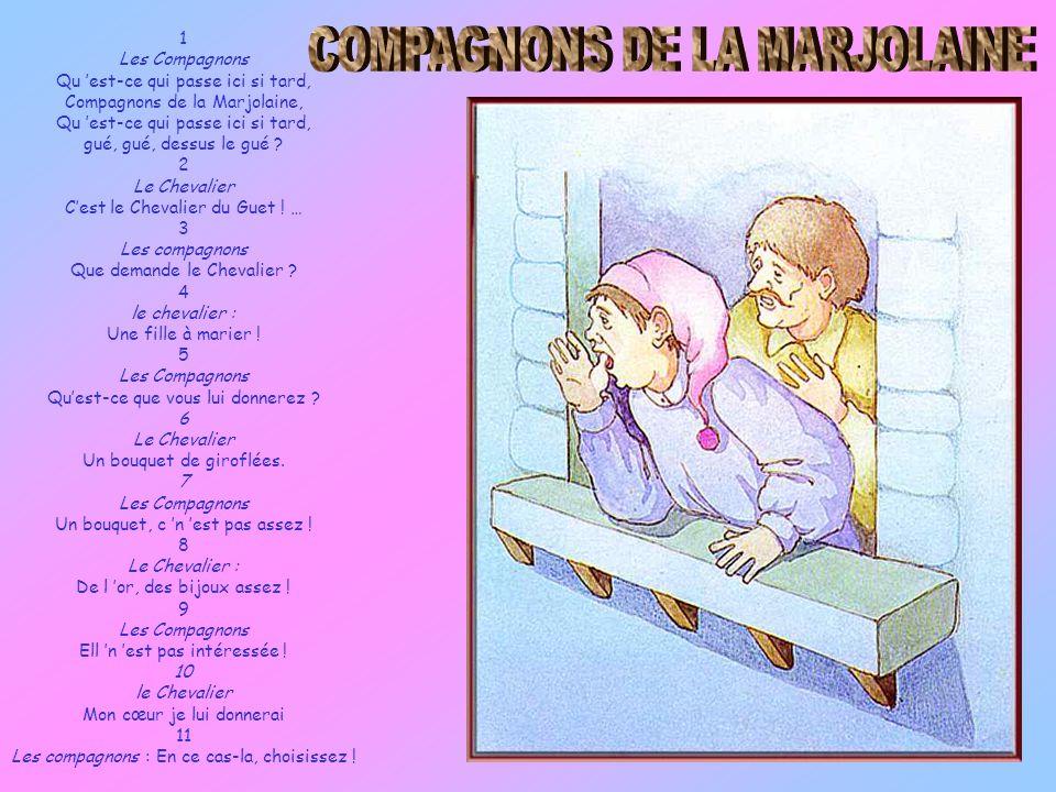 COMPAGNONS DE LA MARJOLAINE