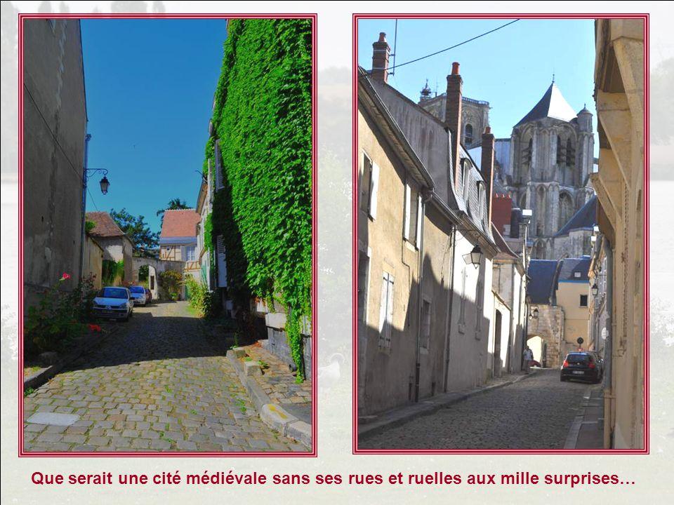 Que serait une cité médiévale sans ses rues et ruelles aux mille surprises…