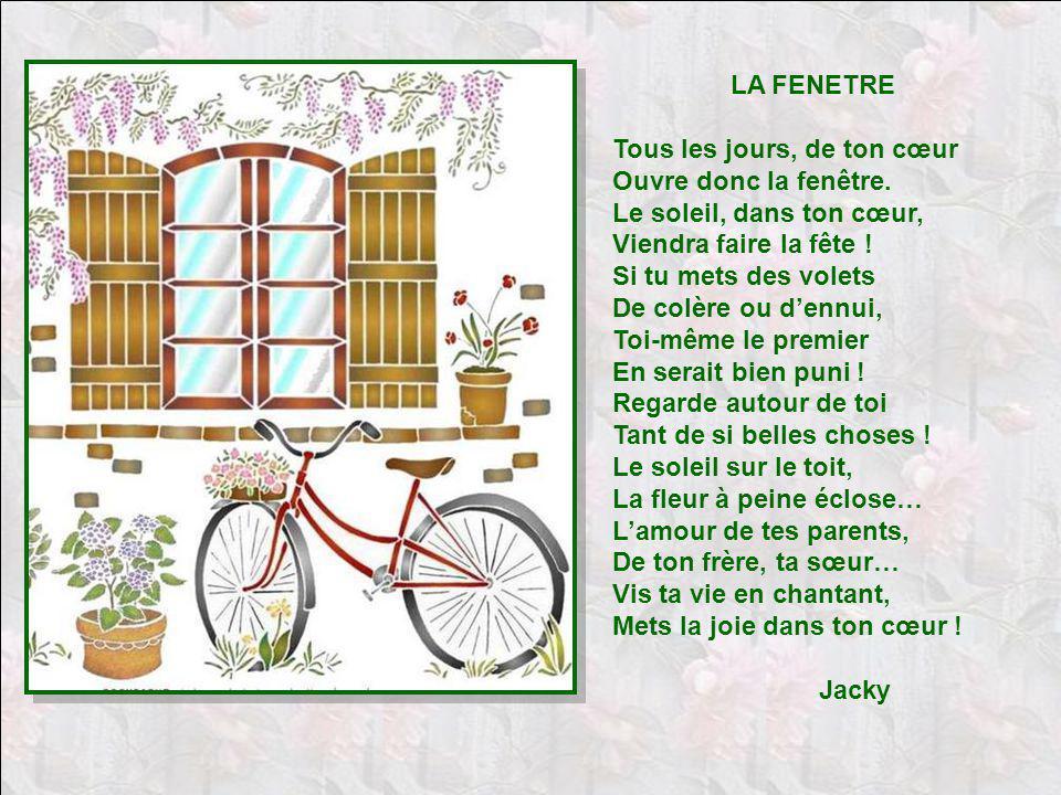 Petits poemes ii diaporama de jacky questel ppt for La fenetre soleil