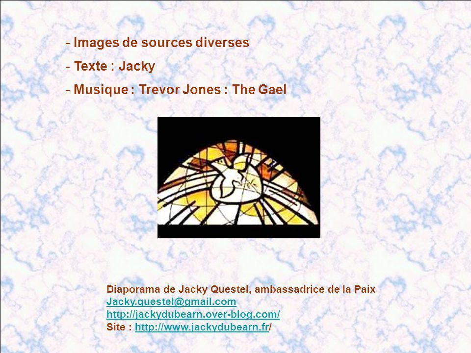 Images de sources diverses Texte : Jacky