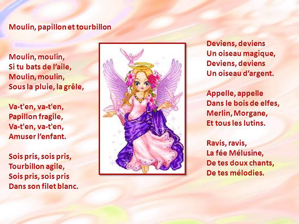 Moulin, papillon et tourbillon