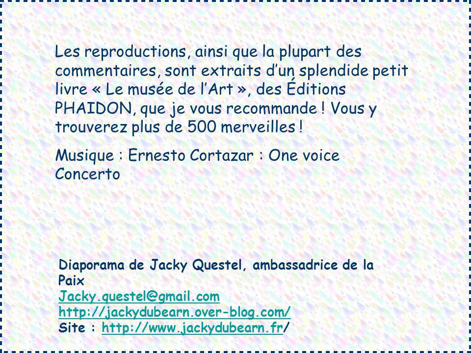 Musique : Ernesto Cortazar : One voice Concerto