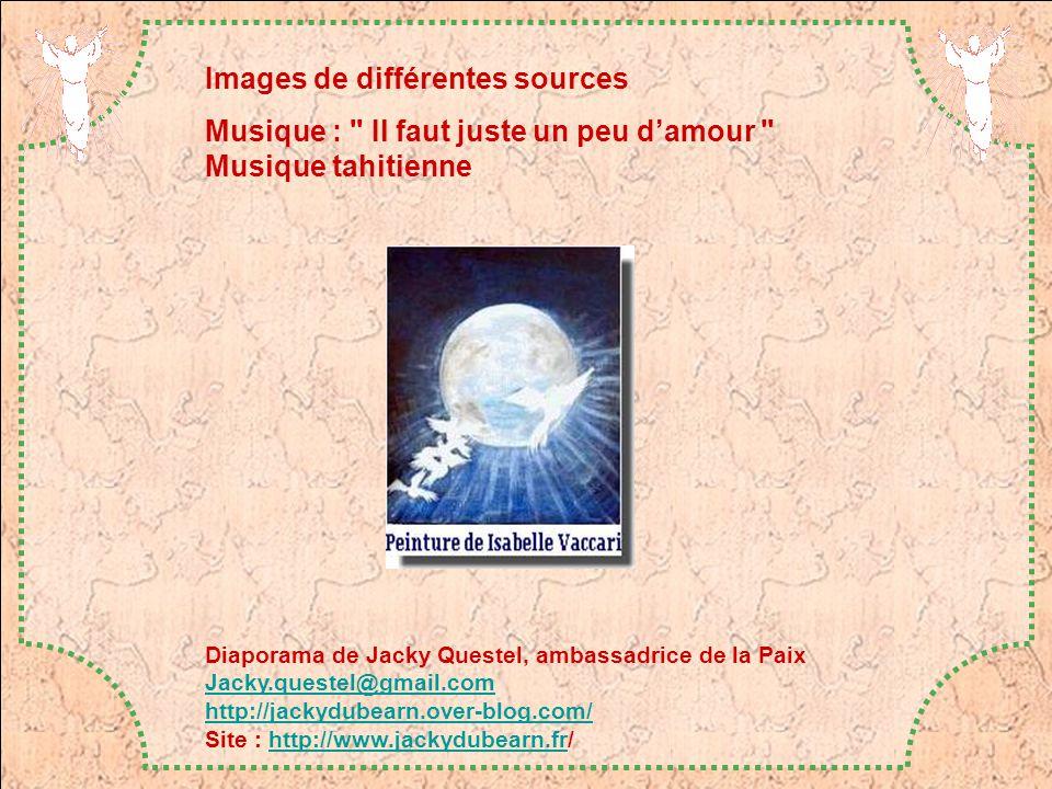 Images de différentes sources