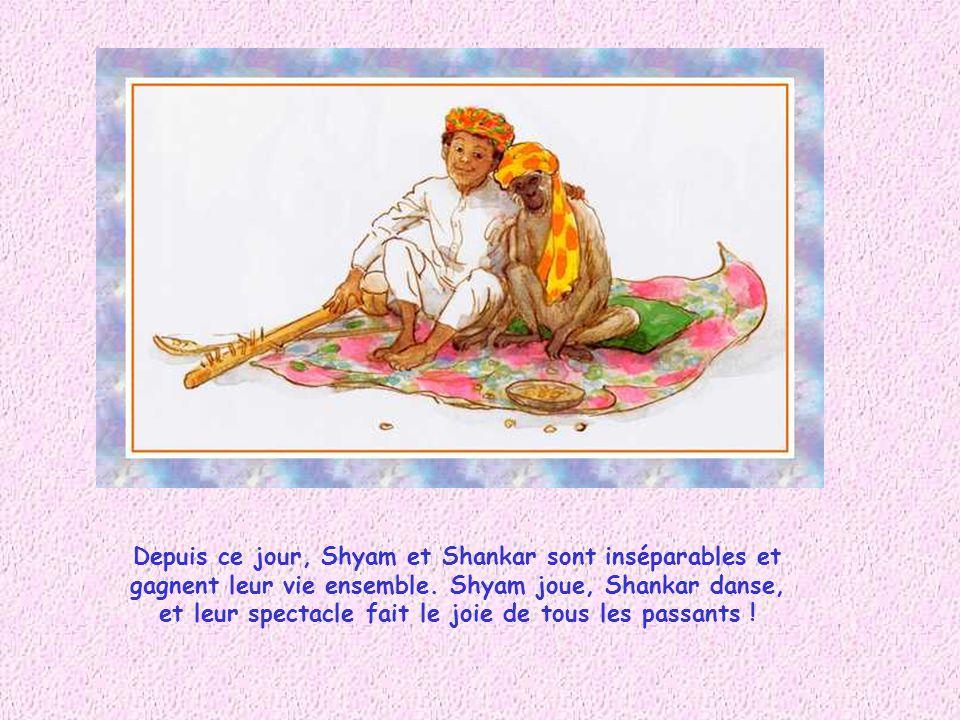 Depuis ce jour, Shyam et Shankar sont inséparables et