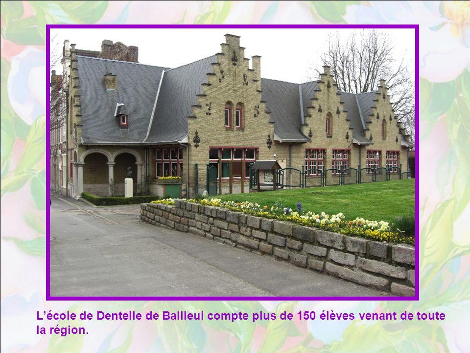 L'école de Dentelle de Bailleul compte plus de 150 élèves venant de toute la région.