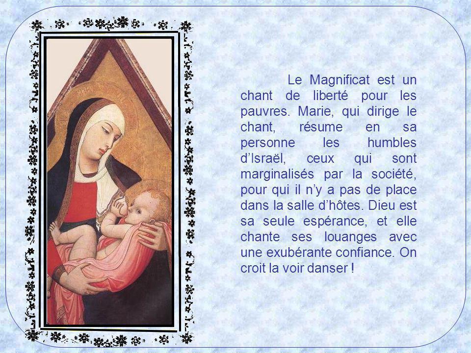 Le Magnificat est un chant de liberté pour les pauvres