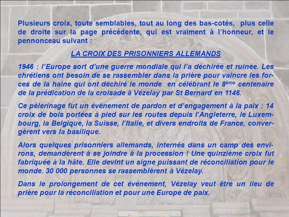 LA CROIX DES PRISONNIERS ALLEMANDS