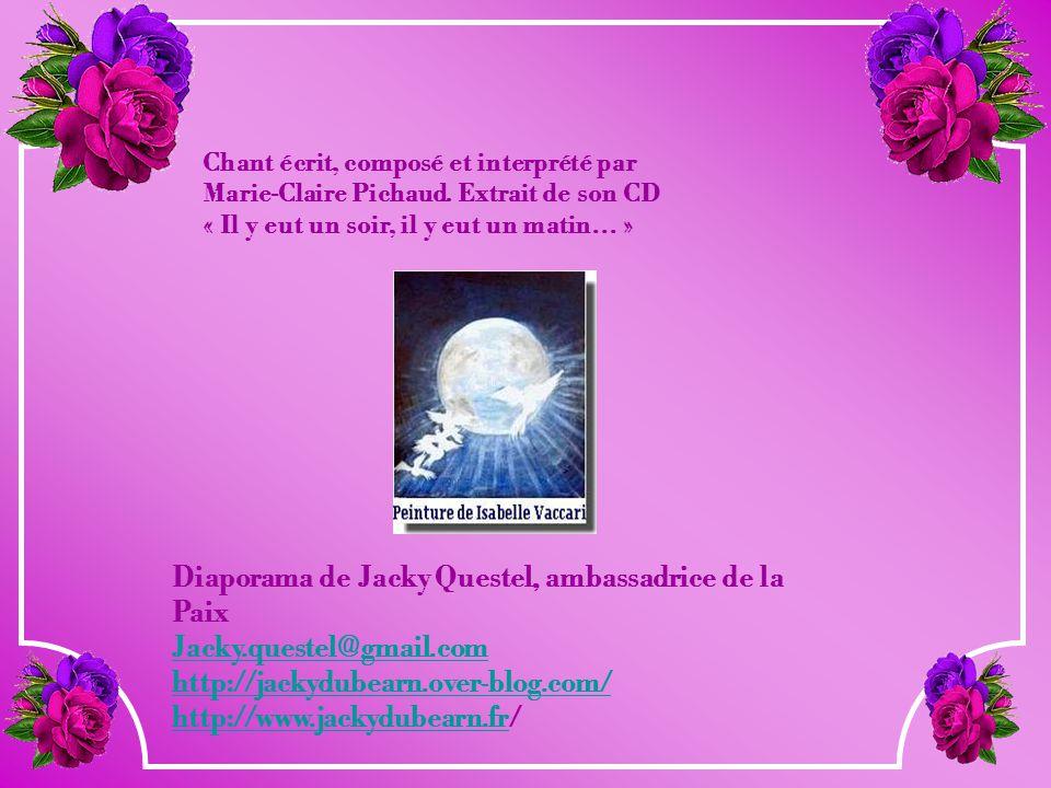 Diaporama de Jacky Questel, ambassadrice de la Paix