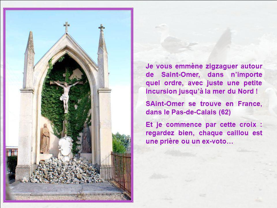 Je vous emmène zigzaguer autour de Saint-Omer, dans n'importe quel ordre, avec juste une petite incursion jusqu'à la mer du Nord !