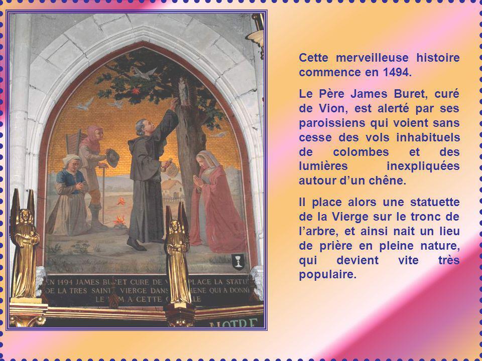 Cette merveilleuse histoire commence en 1494.