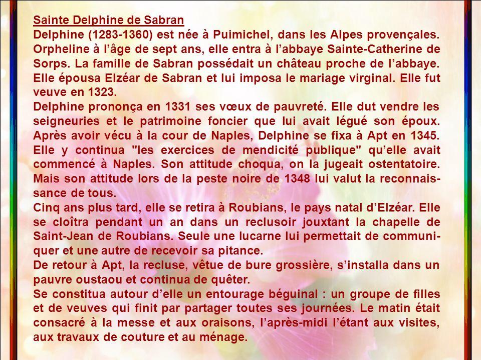 Sainte Delphine de Sabran