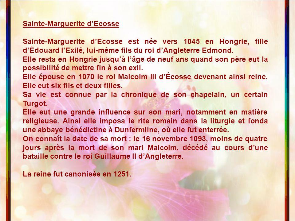 Sainte-Marguerite d'Ecosse