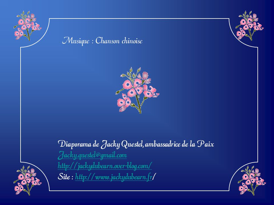 Musique : Chanson chinoise