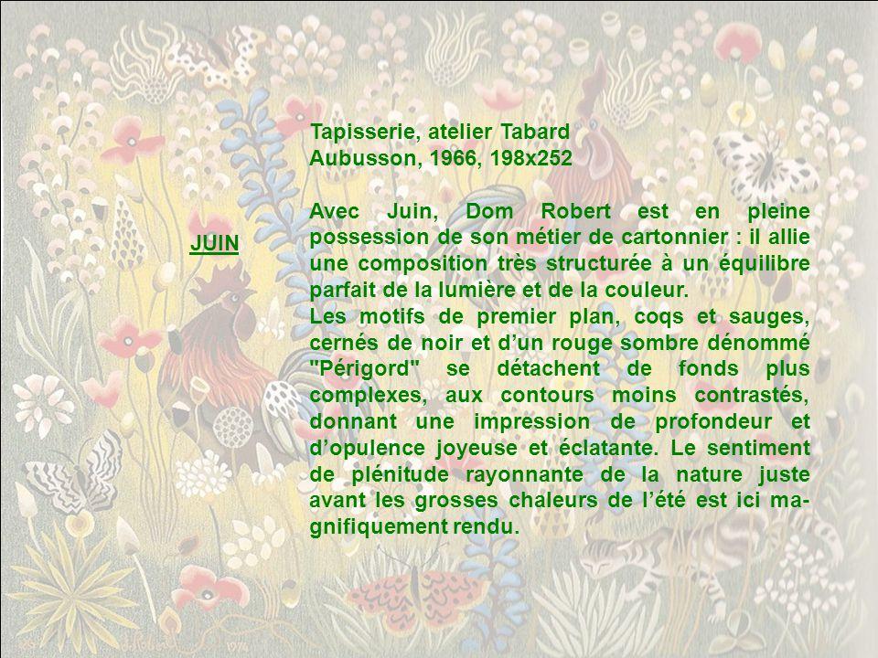 Tapisserie, atelier Tabard