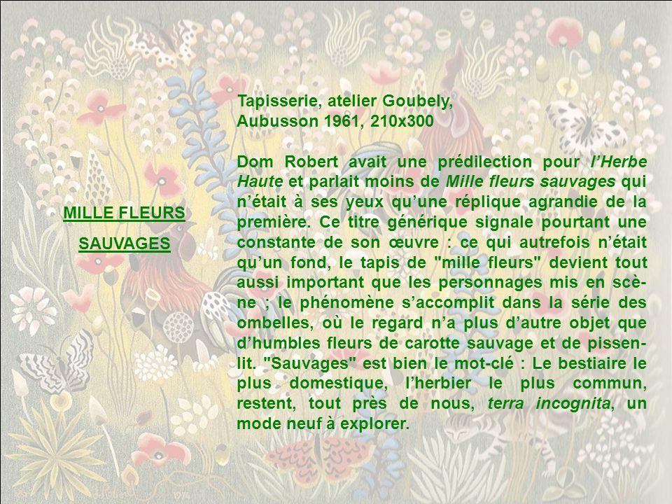 Tapisserie, atelier Goubely,