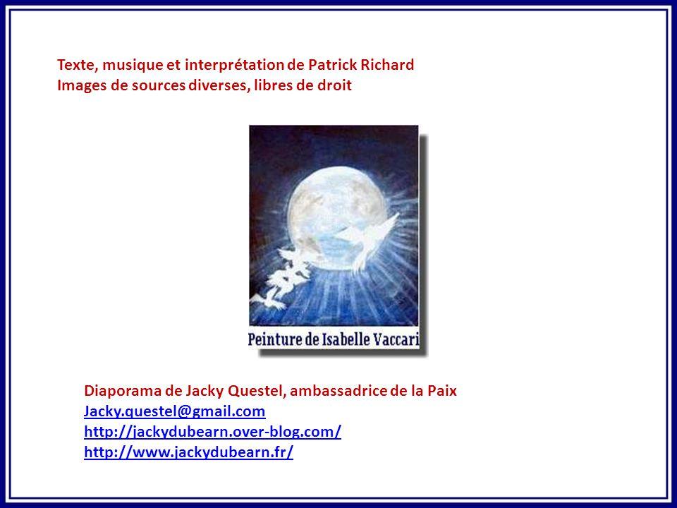 Texte, musique et interprétation de Patrick Richard