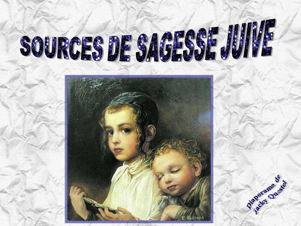 SOURCES DE SAGESSE JUIVE
