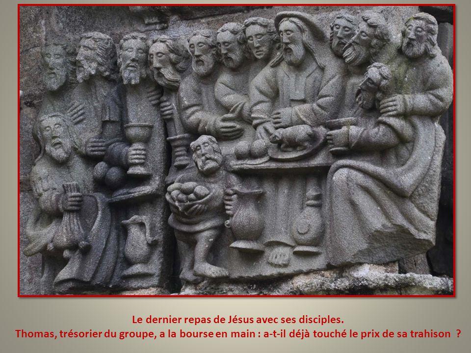Le dernier repas de Jésus avec ses disciples.