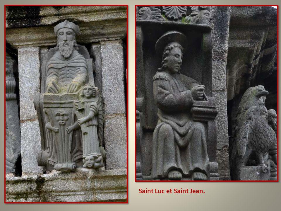 Saint Luc et Saint Jean.
