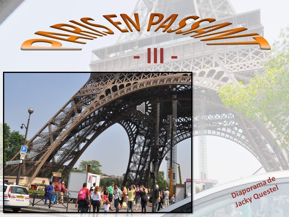 PARIS EN PASSANT - III - Diaporama de Jacky Questel