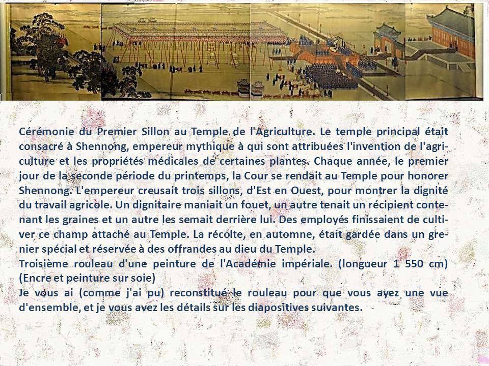 Cérémonie du Premier Sillon au Temple de l Agriculture