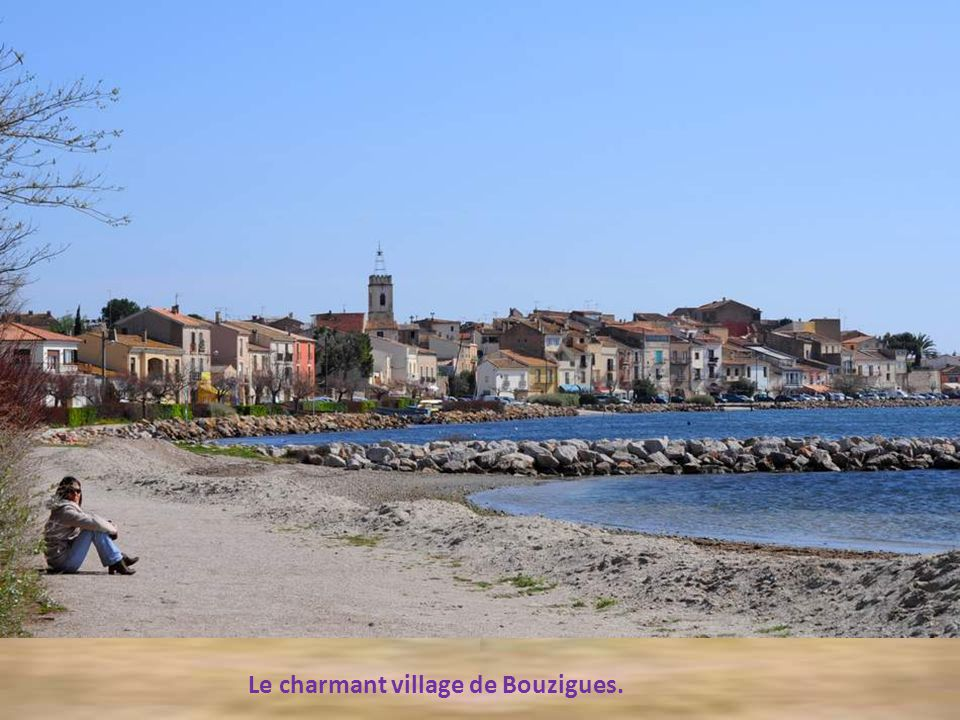 Le charmant village de Bouzigues.