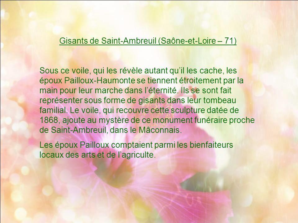 Gisants de Saint-Ambreuil (Saône-et-Loire – 71)