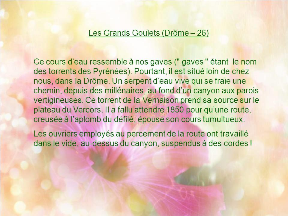 Les Grands Goulets (Drôme – 26)