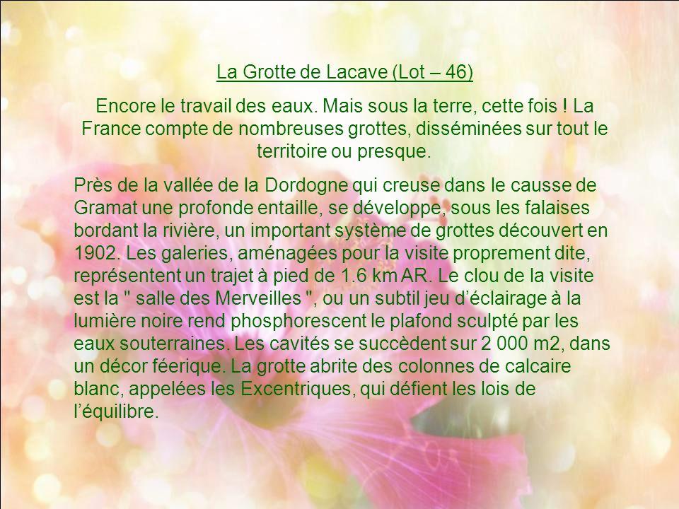 La Grotte de Lacave (Lot – 46)