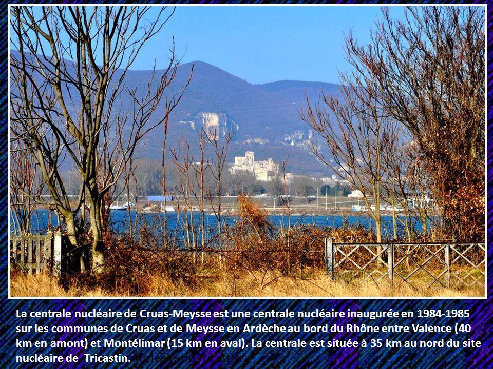 La centrale nucléaire de Cruas-Meysse est une centrale nucléaire inaugurée en 1984-1985 sur les communes de Cruas et de Meysse en Ardèche au bord du Rhône entre Valence (40 km en amont) et Montélimar (15 km en aval).
