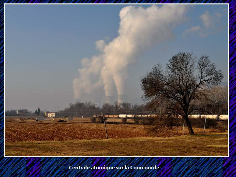 Centrale atomique sur la Courcourde