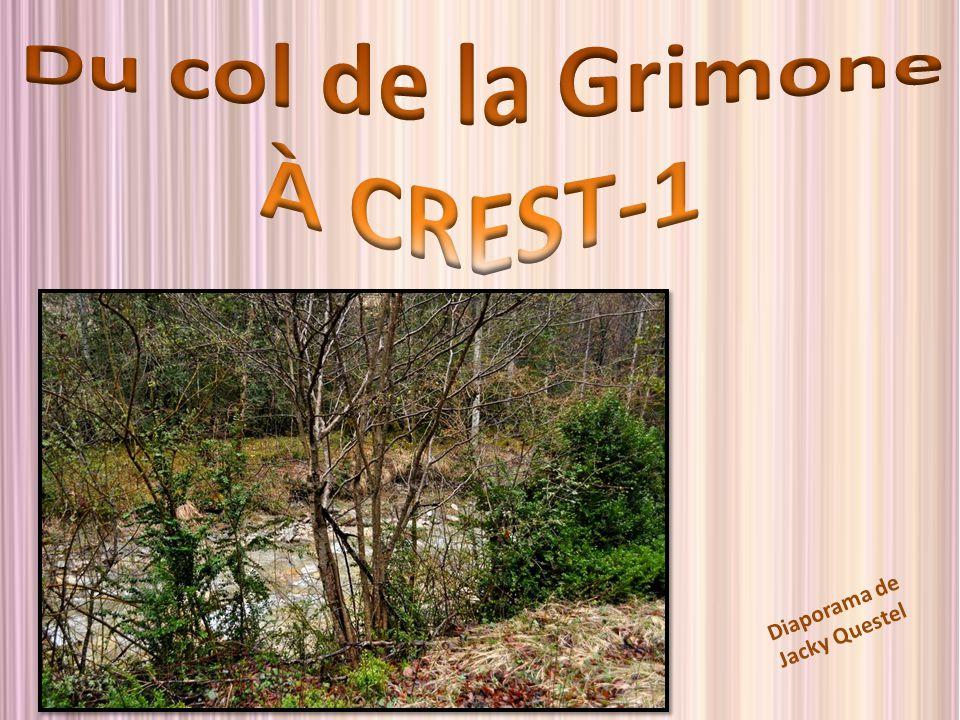 Du col de la Grimone À CREST-1